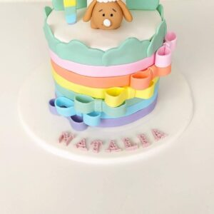 tartas cumpleaños personalizadas con fondant